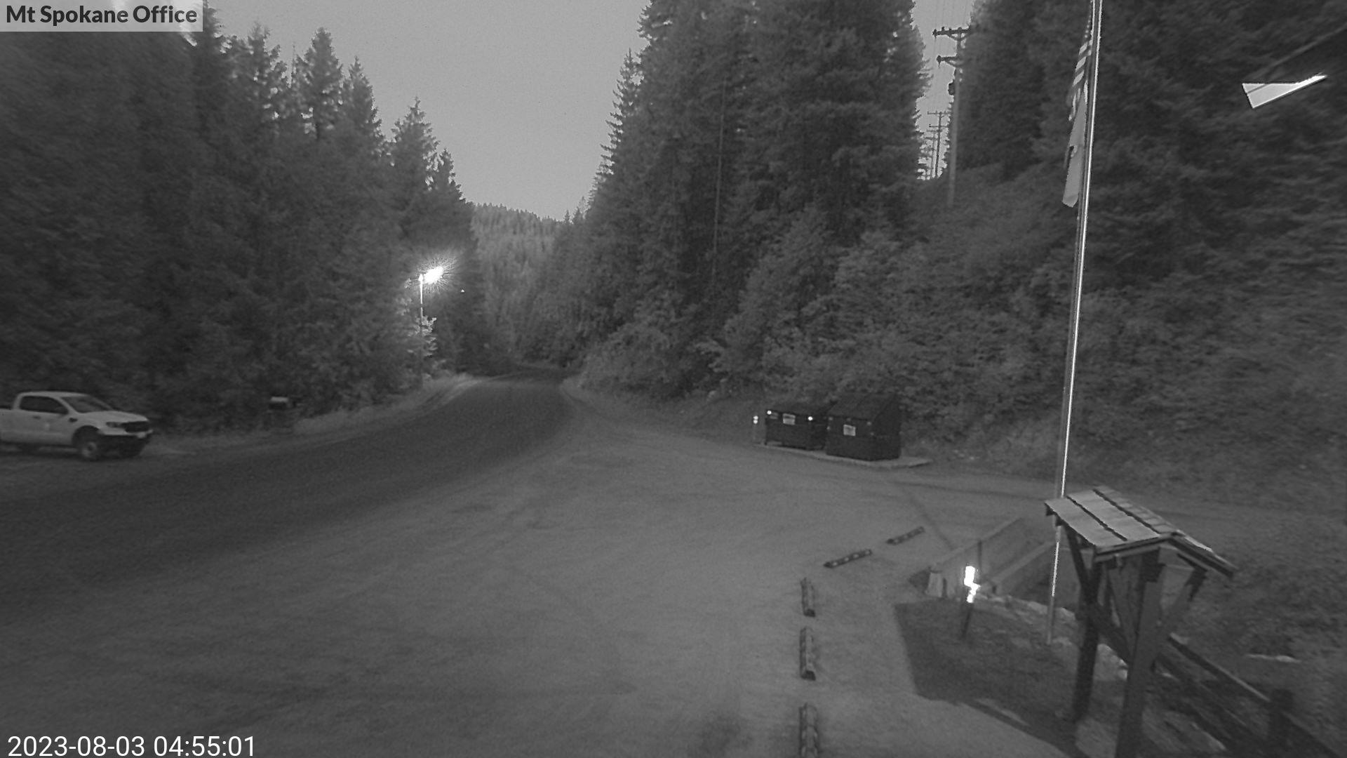 Web camera at Mount Spokane